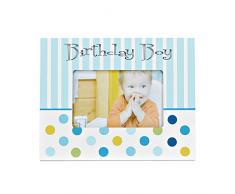 Babuqee 940140 LED bebé marco de fotos - cumpleaños Boy