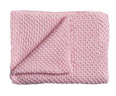 Manta de punto Schardt 15 100 212 para bebé, 75 x 100 cm, rosa.