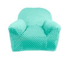 lulando Plush Minky Baby Sillón infantil sofá Mini Sillón Niños Muebles para parte habitaciones y habitación. Standard 100 de Öko Tex. Color: Mint