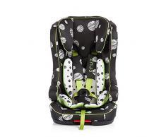 Chipolino Isofix asiento de coche para niños (grupo 1/2/3, Cruz, Ángel Azul) negro