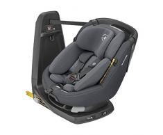 Maxi-Cosi Axissfix Plus Silla de coche giratoria 360° isofix, silla auto reclinable y contramarcha, con reductor bebé recién nacido, 0 meses - 4 años, color authentic graphite