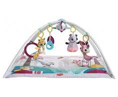 Tiny Love Gymini Deluxe Gimnasio de actividade, Manta musical de juegos para bebés con 18 actividades para el desarrollo y juguetes electrónicos para llevar, Tiny Princess Tales