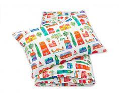 Pepi Leti 685843715931 Cottages Premium - Juego de cama infantil, multicolor