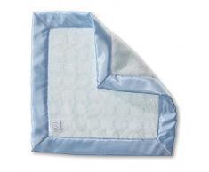 Diseños Swaddle - microfibra Manta para bebé, razón: Círculos, azul (azul en colores pastel), 36 x 36 cm