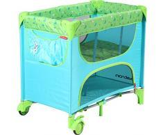 Patron bdp101008aa839p Cuna de viaje de pequeño Maia, mariposa azul/verde