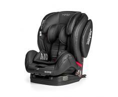 Innovaciones MS Encore Sport Fix silla auto, grupo 1+2+3 (9-36 kg) negro/ gris