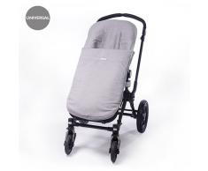 Pasito a Pasito - Funda de silla universal con saco, color topito gris