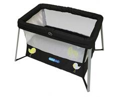 Bebé Due - Minicuna parque jasper, unisex, color negro