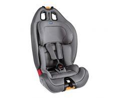 Chicco Chicco Gro Up 123 Silla de coche grupo 123 (9-36kg) con reductor, color gris (Pearl) Silla de coche grupo 1/2/3, Color Pearl