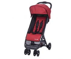 Safety 1st TEENY Ribbon Red Chic - Silla de paseo plegable y multifuncional, unisex, color rojo