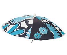 Babyline Flores - Sombrilla de silla, unisex, color turquesa