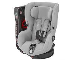 Bébé Confort AXISS Nomad Grey - Silla infantil giratoria para coche del grupo 1, ajuste extraseguro, reclinable, 9 meses-4 años, 9-18 kg, color gris
