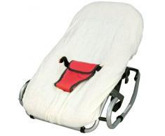 Looping funda de rizo para silla mecedora vainilla