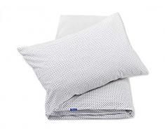 Pepi Leti 685843716006 - Juego de funda de edredón y funda de almohada para cama infantil, diseño de corazones, multicolor
