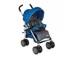 Chicco MultiWay2 - Silla de paseo todoterreno con ruedas grandes y suspensión, color azul (Blue)