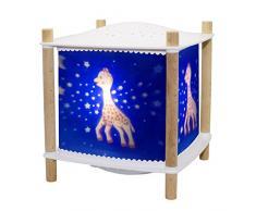 Trousselier 6061bl luz nocturna proyector de estrellas recargable