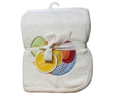 Suncrest Jolly Jamboree para cochecito de bebé suave y Nursery Baby manta (100 x 75 cm), color crema