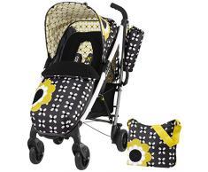Cosatto Mollie Millie - Silla de paseo, color negro y amarillo