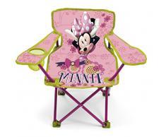 Arditex WD9449 - Silla plegable con brazos y funda, diseño Minnie Mouse