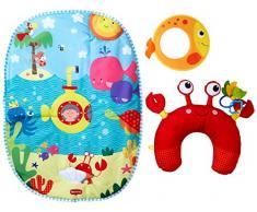Tiny Love Tummy Time Play Under the Sea manta de juegos para bebé