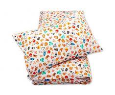 Pepi Leti 685843715436 - Juego de cama infantil, diseño de la ciudad de los animales, multicolor