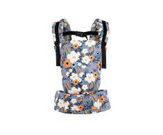 Tula Free-to-Grow TBCA7F60 French Marigold - portabebé Configurable en Anchura y altura para bebés de 3, 2 a 20, 4 kg sin necesidad de un cojín bebé