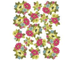 Wallies - pegatinas de pared, razón: Ramo de flores retro