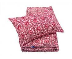 Pepi Leti 685843716020 - Juego de funda nórdica y funda de almohada para cama infantil, diseño de frambuesa, multicolor