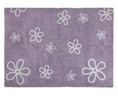 Happy Decor Kids HDK-243 - Alfombra lavable, color malva