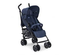 Chicco London Silla de paseo ligera, solo 7.2 kg, compacta y manejable, color azul (Blue Passion)