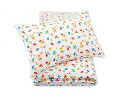 Pepi Leti 685843716068 - Juego de cama infantil, diseño de pájaros, multicolor