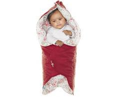 Wallaboo Leaf - Manta para bebé ultra suave, color rosa