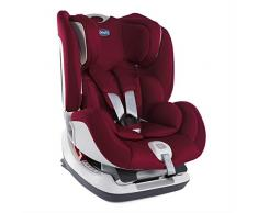 Chicco Seat up 012 Silla de coche isofix grupo 012 (0-25kg) con reductor, color rojo (Red Passion) Silla de coche grupo 0+/1/2, Color Red Passion