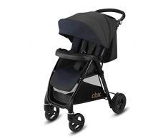 Cbx Misu Air - Silla de paseo, ruedas hinchables, incluye cubierta para lluvia, desde el nacimiento hasta los 15 kg, Jeansy Blue