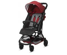 Casualplay Livi - Silla de paseo plegable tipo Libro, color Rojo