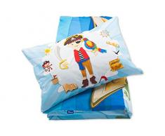 Pepi Leti 685843715283 Pirat Premium - Juego de cama infantil, multicolor