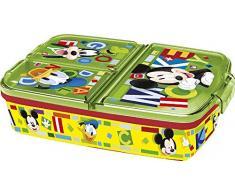 Stor SANDWICHERA MÚLTIPLE Mickey Mouse - Disney - Watercolors
