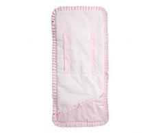 Babyline Love - Colchoneta ligera para silla de paseo, color rosa
