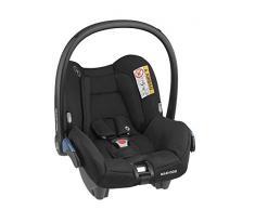 Maxi-Cosi Citi Silla auto grupo 0, silla coche bebé portatil, bebé recién nacido hasta 12 meses, color Essential Black