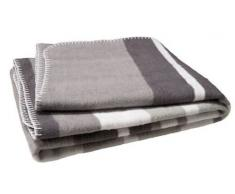 Jollein Manta 120 x 150 cm Stripe gris / color blanco / antracita