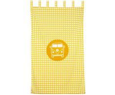 Taftan Cortina poco van amarillo (145 x 280 cm) - Amarillo