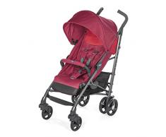 Chicco Liteway 3 - Silla de paseo ligera y compacta, soporta hasta 22kg, color rojo (Red Berry)