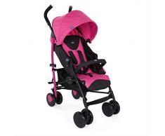 Chicco Echo - Silla de paseo, ligera y compacta, 7,6 kg, color rosa (Deep Pink)