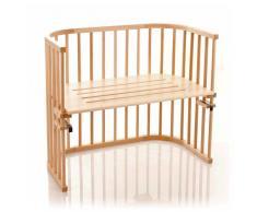 Babybay - Cuna esquinera multiusos lacada en madera [importado de Alemania]