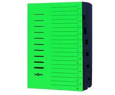 Pagna 24081-03 Negro, Verde - Carpeta (Negro, Verde, A4, Retrato, 245 mm, 4 mm, 320 mm)
