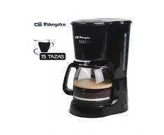 650 W Gris y negro Orbegozo CG 4016 Cafetera de goteo