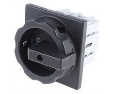 Siemens 3LD2504-0TK51 3P Negro interruptor eléctrico - Accesorio cuchillo eléctrico (50/60, 63 A, 1260 A, Negro, 90 mm, 110,5 mm)