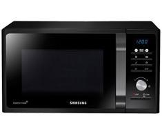 Samsung MG23F301TCK Encimera 23L 800W Negro - Microondas (Encimera, 23 L, 800 W, Botones, Giratorio, Retirable) color negro