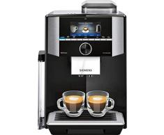 Siemens TI955F09DE - Cafetera (Independiente, Cafetera combinada, 2,3 L, Molinillo integrado, 1500 W, Negro, Plata)