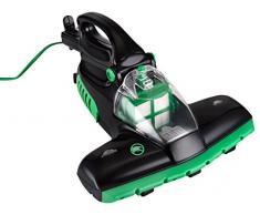 Team Kalorik Aspirador de mano, Tecnología de luz UV, Para colchones y alfombras, 400 W, Negro/Verde, TKG HSS 1004